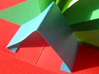 クリスマスカード 手作り手順画像5