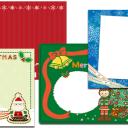 クリスマスカードに映える無料の文字素材を一挙ご紹介します 年賀状 はがき作成ナビ