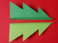 クリスマスカード 手作り手順画像2