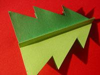 クリスマスカード 手作り手順画像3