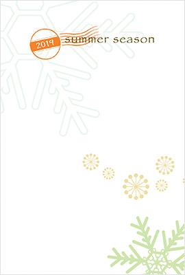 残暑見舞いデザイン4